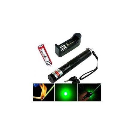 Green laser pointer JD-303 532NM yaşıl lazeri Laser